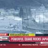 8.8 magnitude earthquake hit Japan's northeastern Honshu Island Friday