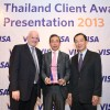 Krungsri Consumer Won Visa International Asia Pacific Award  As The Best Business Leader of the Year in the Innovative Channel