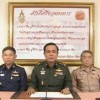 The Army Chief General Prayuth  declares coup