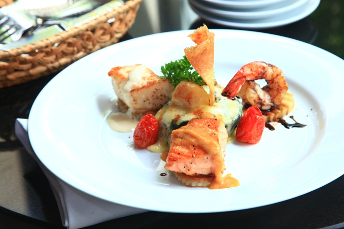 Promotion Of The Month Seared Seafood Combo At Terrazza