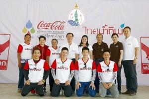 Coca-Cola volunteer at Ban Limthong_final